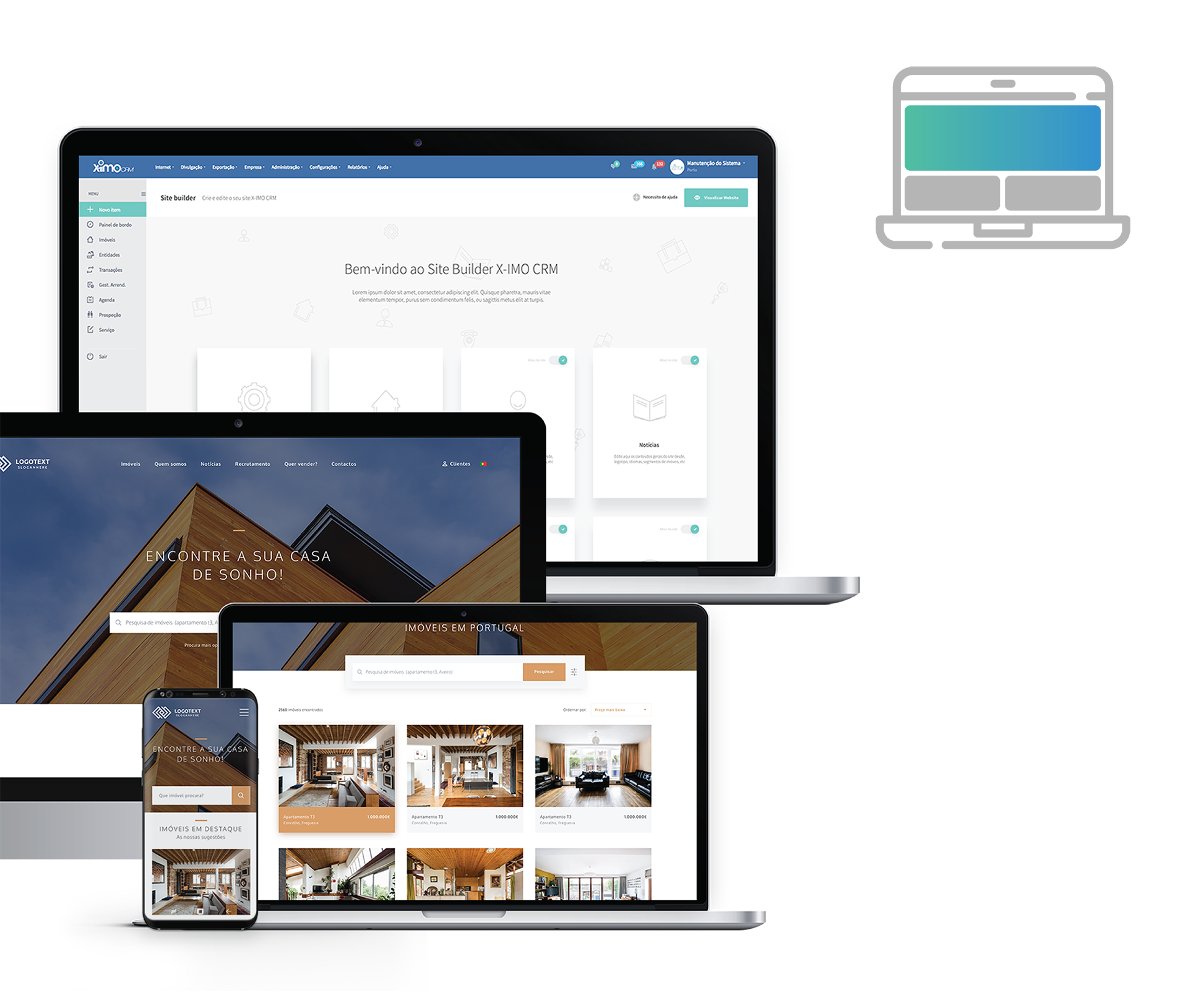 Site Builder X-IMO CRM